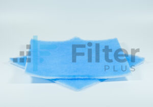 Blue Fabric Material